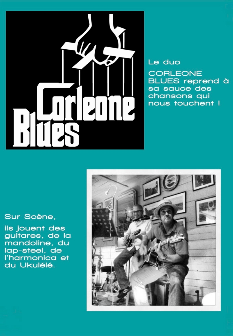 VISUEL CORLEONE BLUES GIRASOLE